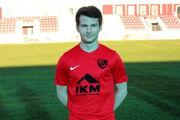 Erik Hric v drese MFK Zvolen