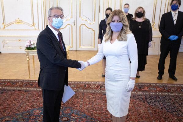 Prezidentka Čaputová vymenovala Šikutu za predsedu Najvyššieho súdu SR.