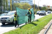 Kosenie popri cestách je častejšie, aby tráva nebránila vo výhľade vodičom.