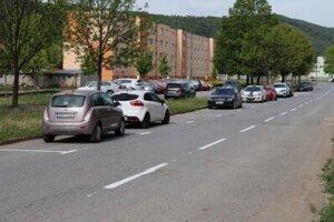 Nové parkovacie miesta v Sabinove.