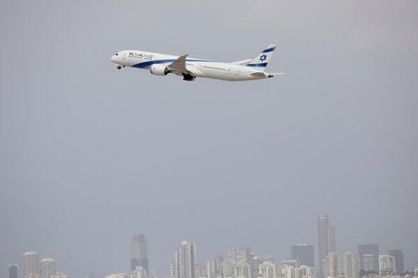 Lietadlo spoločnosti El Al./Ilustračné foto.
