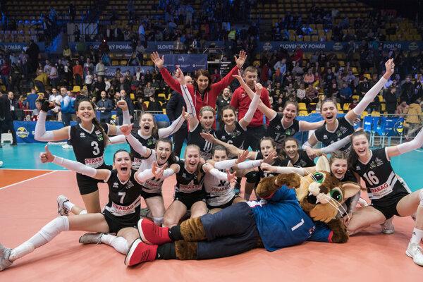 Pezinčanky vyhrali Slovenský pohár.
