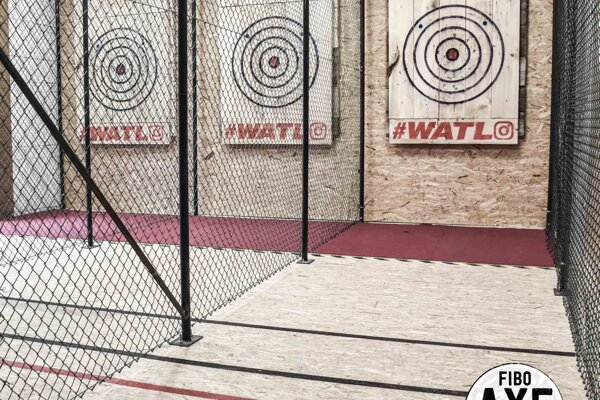 Takáto klietka čaká na tých, ktorí sa rozhodli vyskúšať si nový druh adrenalínového športu.