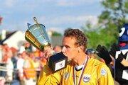 Brankár Peter Solnička je žijúcou legendou myjavského futbalu.