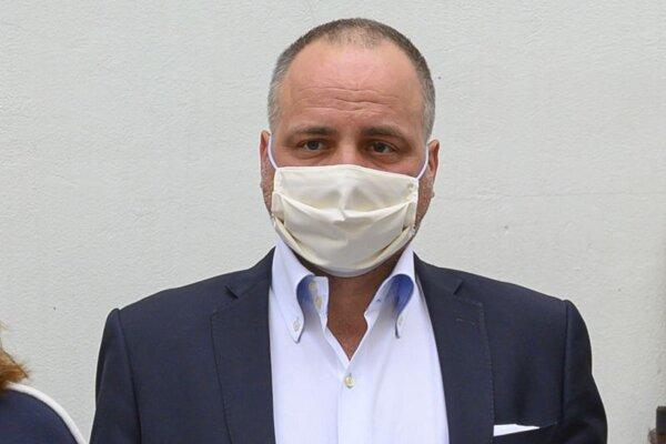 Predseda Bratislavského samosprávneho kraja Juraj Droba.