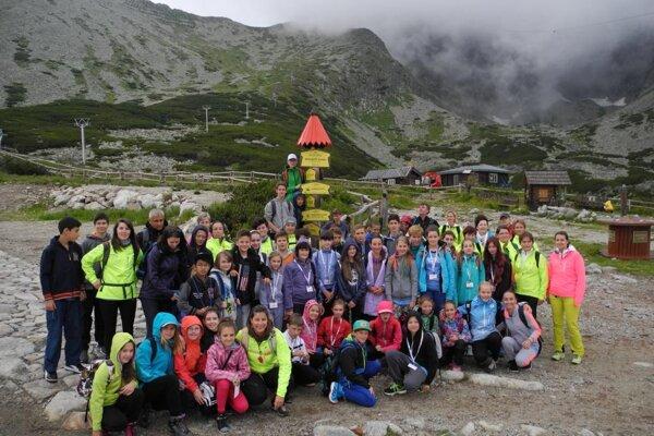 Súťažiaci sa stretli vo Vysokých Tatrách.