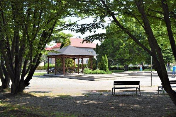 Hviezdoslavov park v Martine.