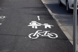 Cyklochodník v leviciach.