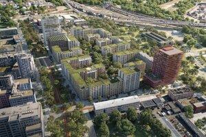 Vizualizácia víťazného návrhu z dielne Sadovsky&architects.