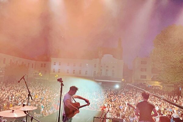 Bystrík banda na Festivale Lumen