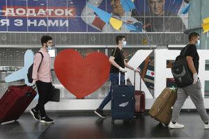 Letisko v Kyjeve.
