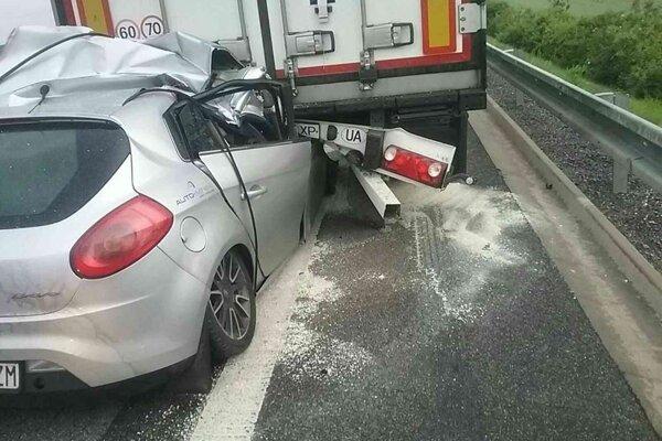 Tragická nehoda na R1.