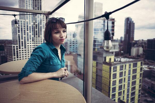 Režisérka Tereza Nvotová prežila pandémiu koronavírusu v New Yorku.