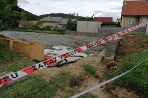 Budúce detské ihrisko v mestskej časti Bojncíc, v Dubnici.