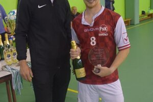 Najlepší hráč Mário Boris.