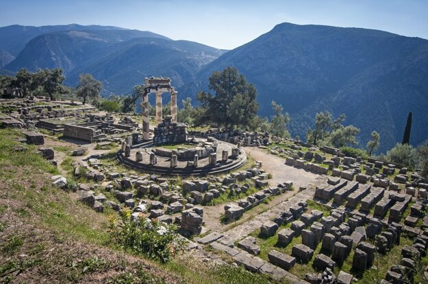 Ruiny mesta Delphi