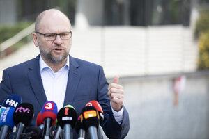 Minister hospodárstva Richard Sulík