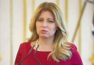 Zuzana Čaputová, prezidentka Slovenskej republiky.