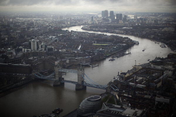 Londýn (ilustračné).