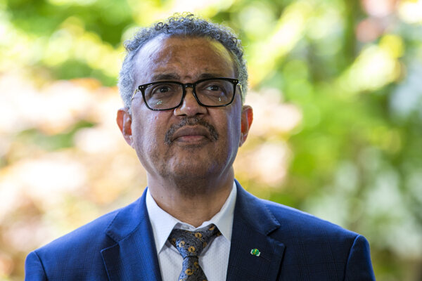 Šéf Svetovej zdravotníckej organizácie Tedros Adhanom Ghebreyesus.