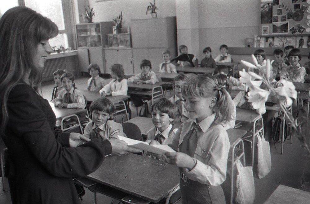 1983. Koniec školského roka v Košiciach.