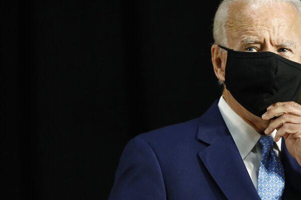Kandidát na nomináciu Demokratickej strany pred americkými prezidentskými voľbami Joe Biden.