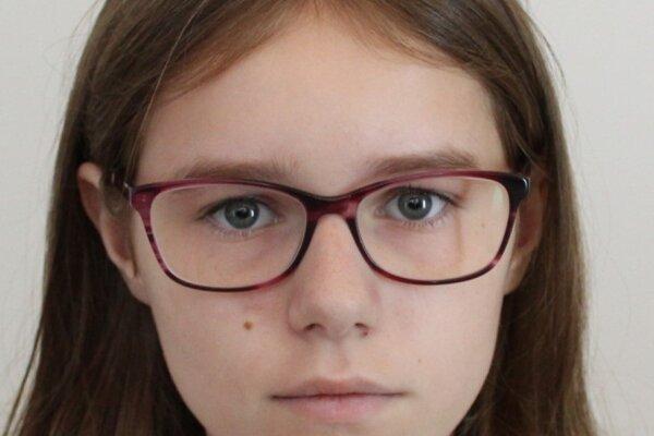 Nezvestná 15-ročná Karolína Žišková z Topoľčian odišla 27. júna z domu a odvtedy sa rodine neozvala.
