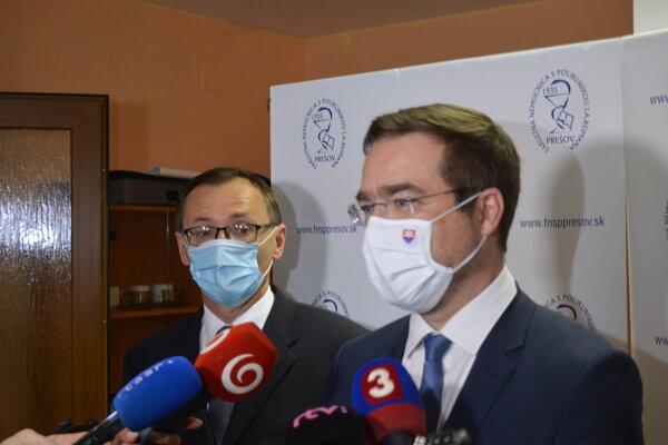 Ľubomír Šarník a Marek Krajčí.