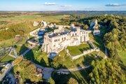 Ruiny hradu Ogrodzieniec.