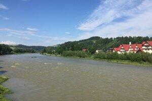 Dunajec na Pieninách.