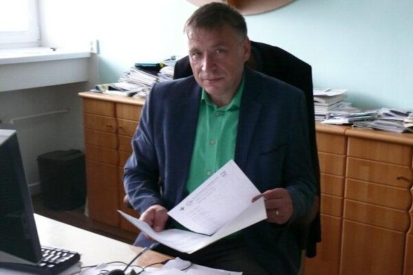 Riaditeľ Kysuckej nemocnice v Čadci Martin Šenfeld.