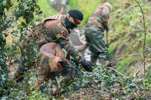 Akcia belgickej polície.