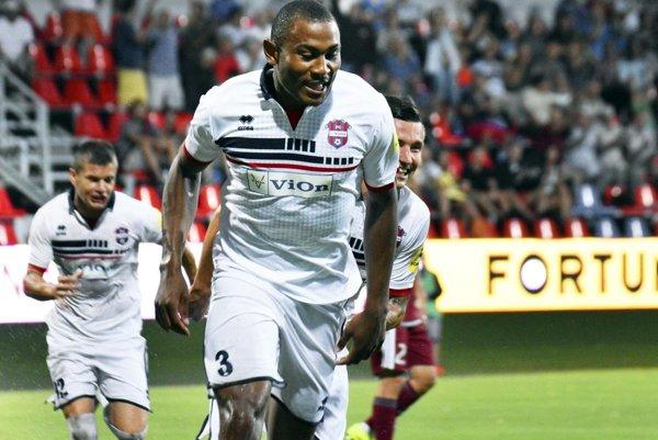 Leandre Tawamba bol najvýraznejšou osobnosťou mužstva FC ViOn - hlavne v jesennej časti.