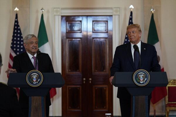 Trump hostil mexického prezidenta, spájajú ich spoločné ciele