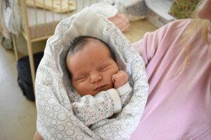 Olívia Psotová (3500 g, 51 cm) sa narodila 28. júna Dominike a Pavlovi z Dolnej Súče.