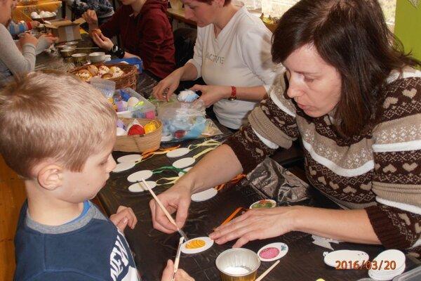 Svoju tvorivosť predviedli deti aj dospelí.