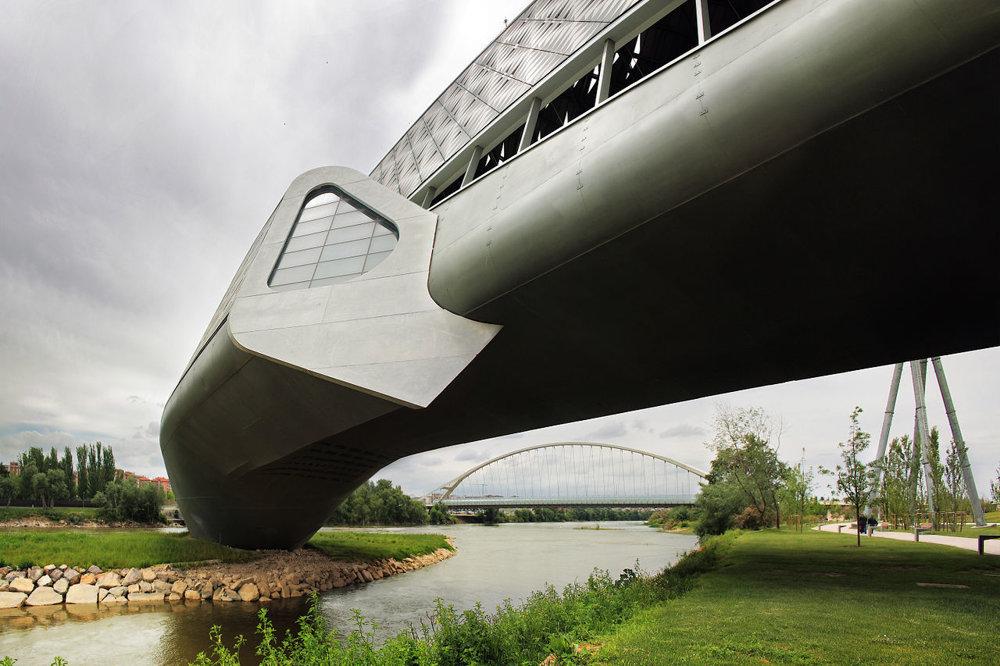 Bridge Pavilion v španielskej Zaragoze.