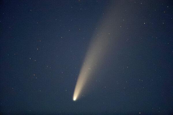 Kométu NEOWISE bude v najbližších dňoch vidno aj voľným okom.
