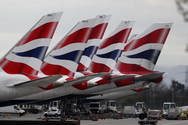 British Airways - ilustračná fotografia.