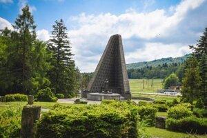 Údolie smrti - pamätník v Dukle