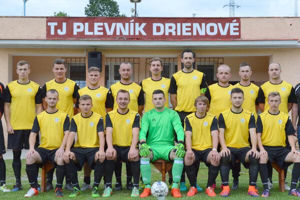 Muži TJ Plevník-Drienové.