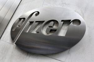 Americký farmaceutický koncern Pfizer.