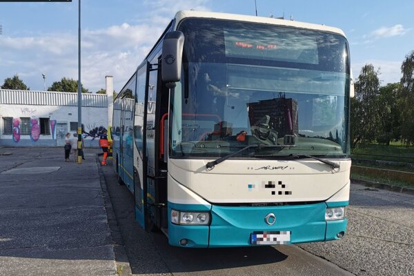 K incidentu došlo na levickej autobusovej stanici.