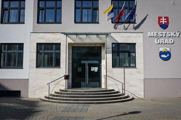 Mestský úrad v Myjave.