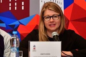 Aneta Büdiová bola pred rokom riaditeľkou organizačného výboru MS v hokeji v Košiciach