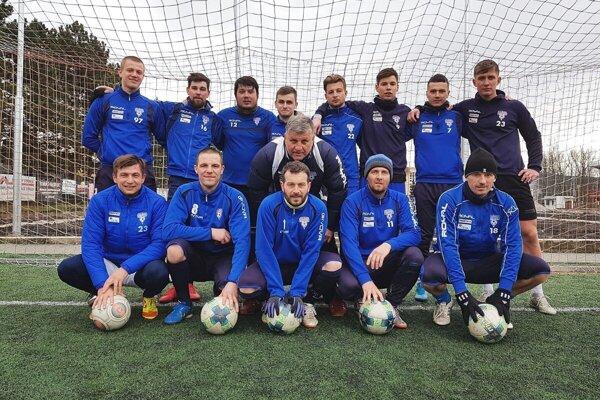 Mužstvo TJ Žiar Papradno