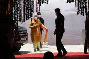 Indický premiér Naréndra Módí v stredu slávnostne položil základný kameň hinduistického chrámu v meste Ajódhja na severe krajiny.