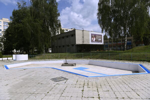 Letné kúpalisko v Považskej Bystrici.