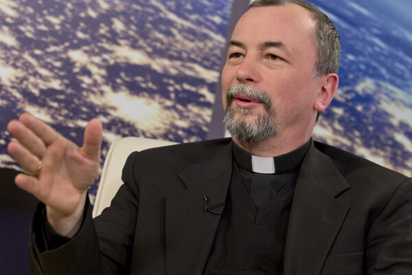 Gréckokatolícky arcibiskup Cyril Vasiľ.