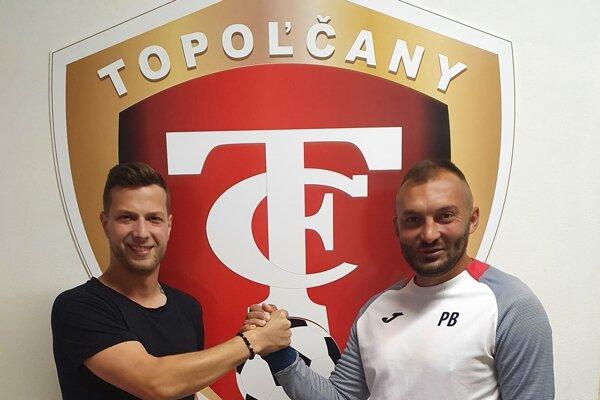 Zľava: Denis Jančovič a Pavol Baláž.